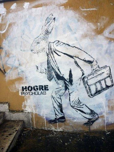 Hogre, greffito Via dei Sabelli, @Hogre