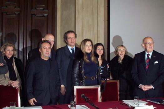 Il Consiglio Direttivo della CNMI e l'assessore alla Moda di Milano G. Terzi