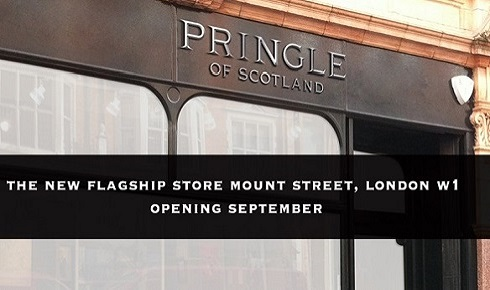 Pringle of Scotland - New flagship store
