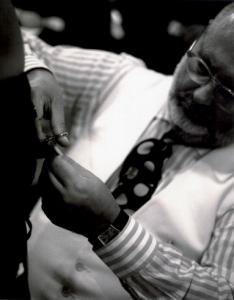 Gianfranco Ferré (foto Fondazione Gianfranco Ferré)