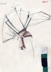 Collezione Donna P/E 1982 (Disegni tecnici © Fondazione Gianfranco Ferré)
