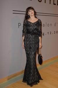 Monica Bellucci, al Gran Palais per la mostra di Cartier