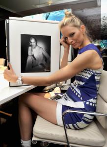 Karolina Kurkova durante il 24mo SIHH © Getty Images