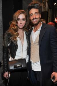 Chiara Ferragni e Mariano Divaio ( Italian fashion blogger) - © Paul de Grauve