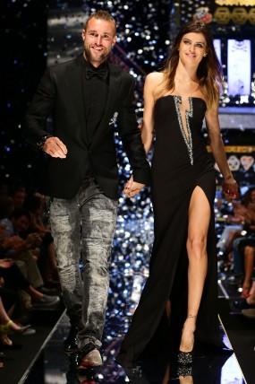 Philipp Plein e la Top Model Isabeli Fontana