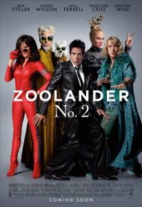 ZOOLANDER 2 - Locandina del film
