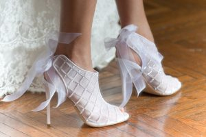 scarpe da sposa, modello 2016 di Penrose